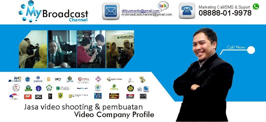 Jasa pembuatan video profile perusahaan
